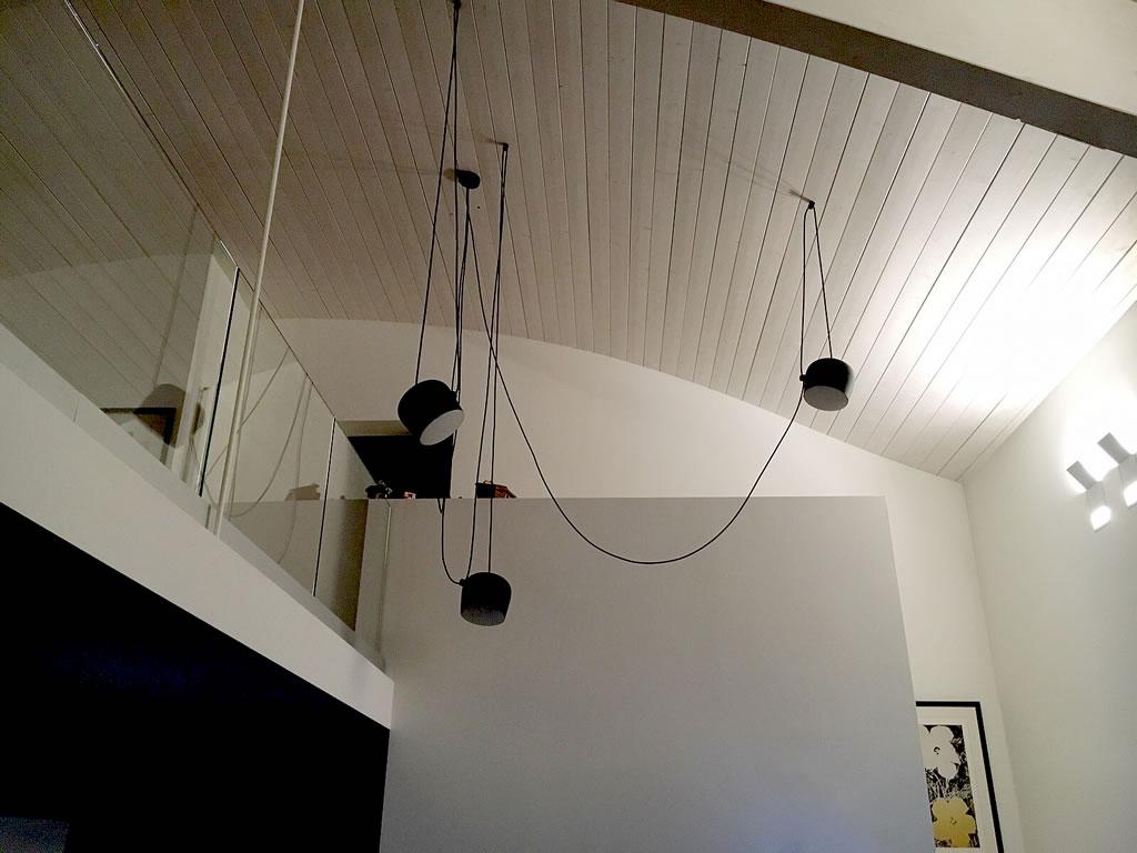 Aldebaran - Realizzazioni esempio lampada AIM da soffitto