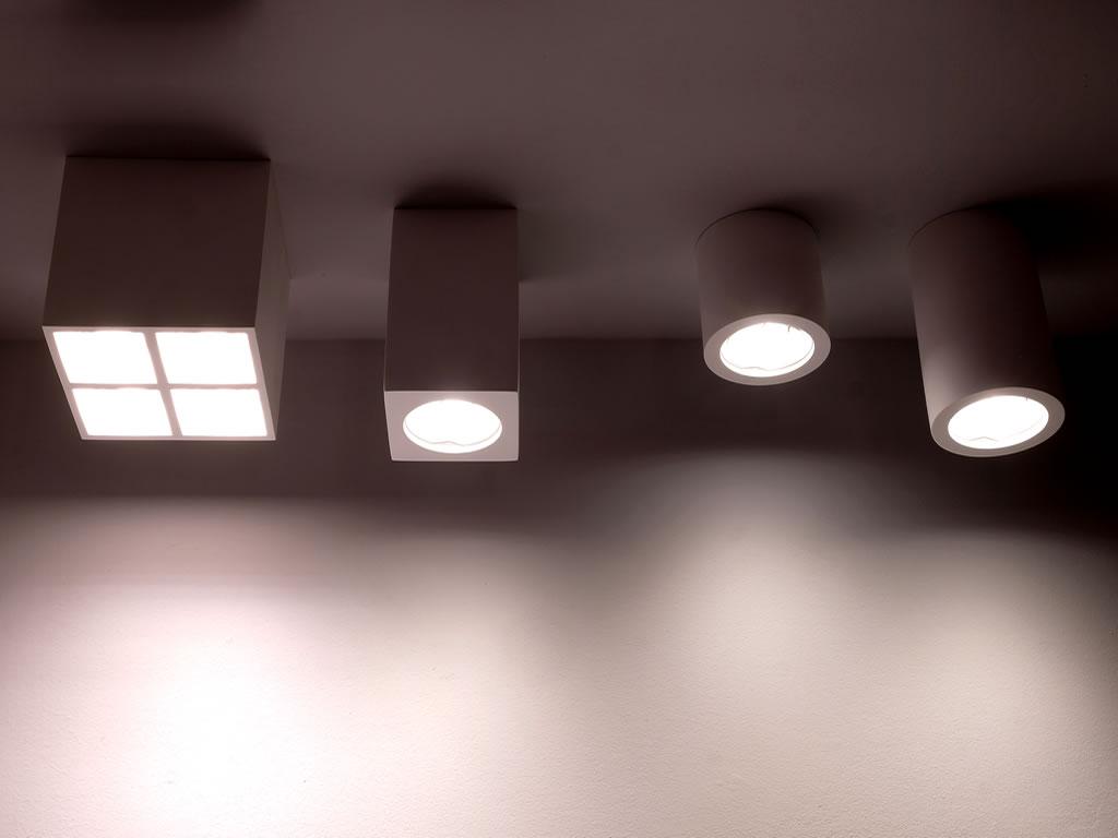 Aldebaran - Lo showroom di biella - Faretti da incasso di varie forme