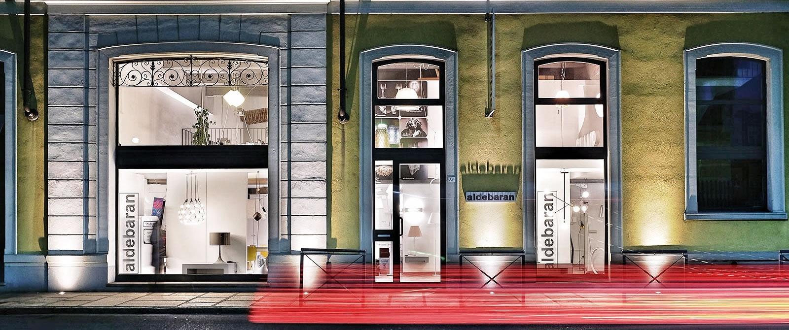 aldebaran Via Tripoli 3/b - Biella - Facciata dello showroom