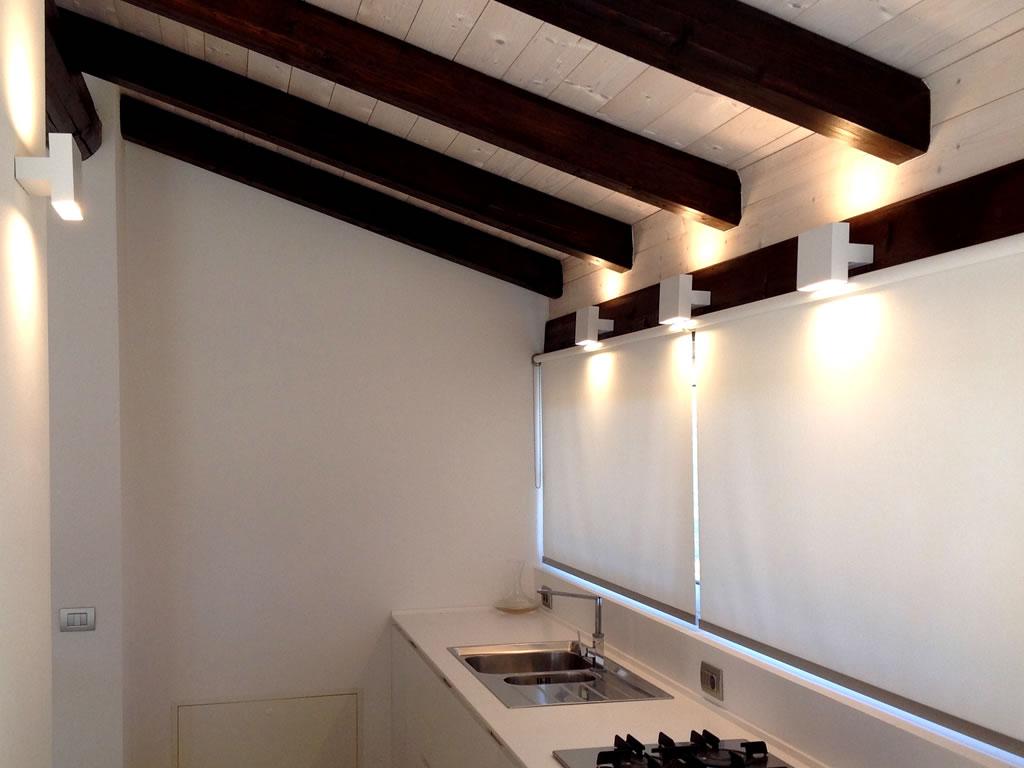 Aldebaran - Biella - come illuminare quando il soffitto è basso con Tight Light