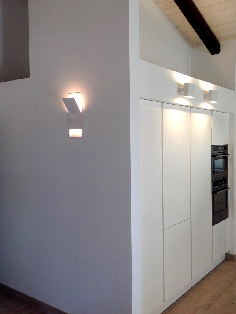 Aldebaran - Realizzazioni come illuminare quando il soffitto è basso
