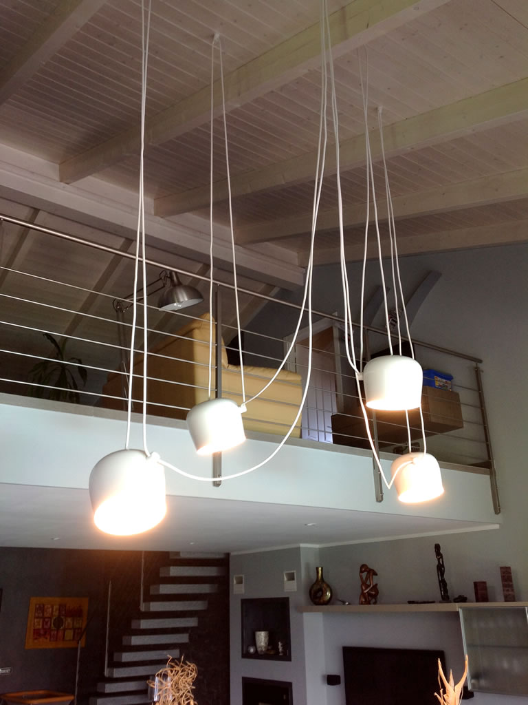 Aldebaran Biella - esempio per illuminare da soffitto molto alto
