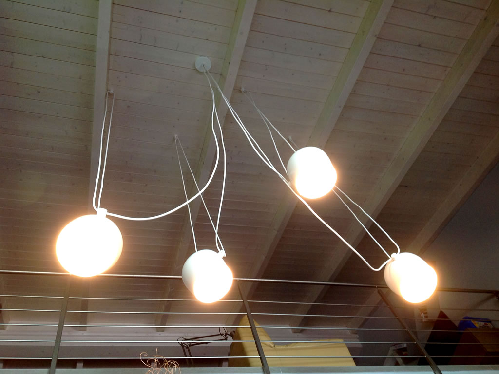 Aldebaran - Realizzazioni esempio faretti da soffitto